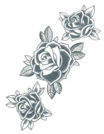 three roses tattoo three black roses tattooednow ltd