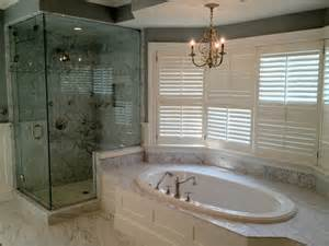 Bathtub Surround Ideas Master Bathroom Tub Shower Renovation Titus Built Llc