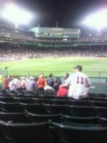 Section 8 Boston Ma by Fenway Park Section Bl 42 Row 8 Boston Sox Vs