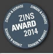sparda bank kleinkredit disq zins award 2014