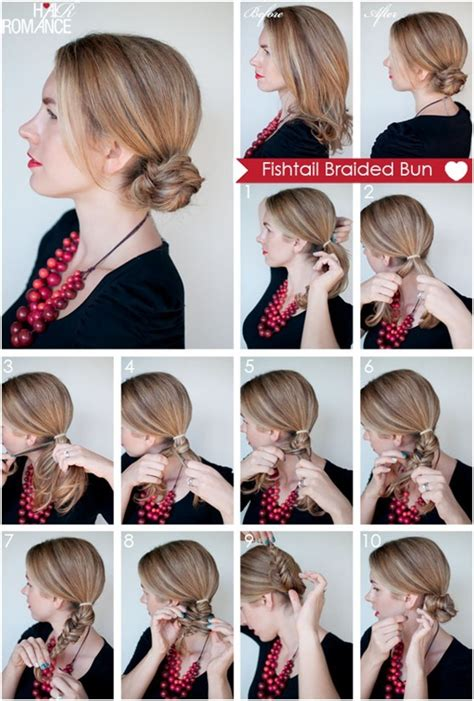everyday hairstyles for long hair step by step fishtail braided hairstyles tutorials trendy hairstyles