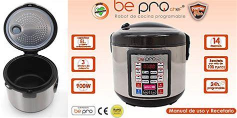 robot de cocina be pro chef robot de cocina be pro chef premier programable y con