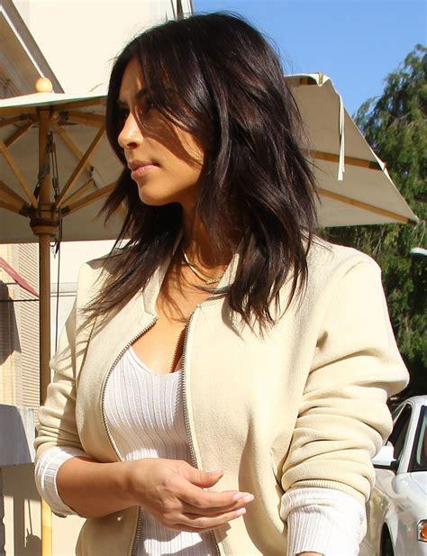 kim kardashians new hairstyle 2015 pictures of kim kardashian s new hair style popsugar