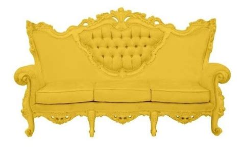 bright yellow couch neon yellow sofa dise 241 o pinterest