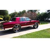 BADASS Candy Painted Box Chevy On 30s Diablo Wheels