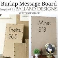 home design message board burlap message board inspired by ballard designs girl in