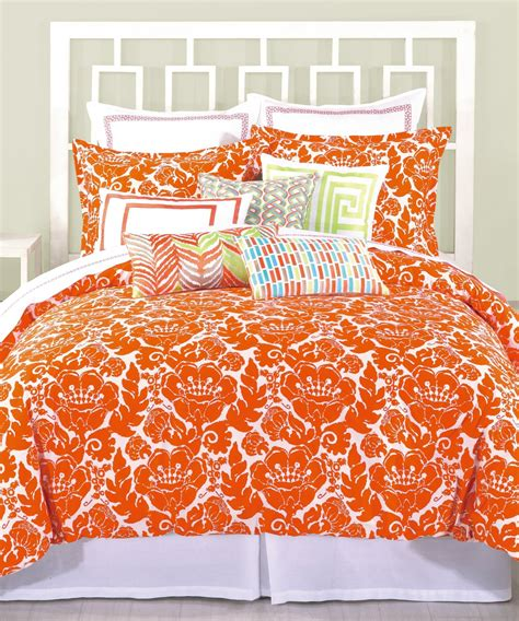 image gallery orange comforter