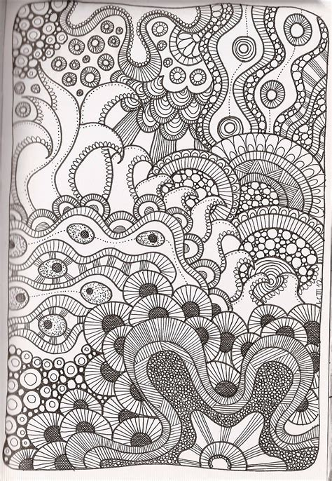 Free Printable Zentangle Coloring Pages For Adults Zentangle Coloring Page