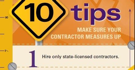 contractor from hell our nightmare 10 tips make sure your contractor measures up