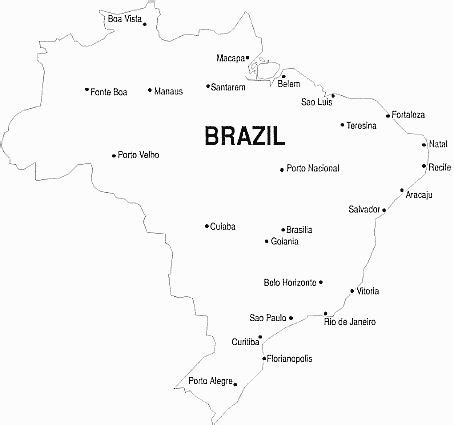 coloring page map of brazil 71 best images about school brazil rainforest on pinterest