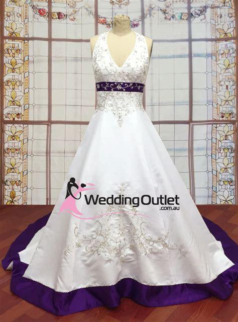 Custom Wedding Dresses Purple And White by Weddingoutlet Co Nz Wedding Outlet Wedding Dresses