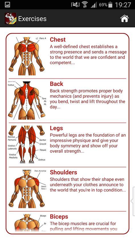 mega gain workout bodybuilding apps