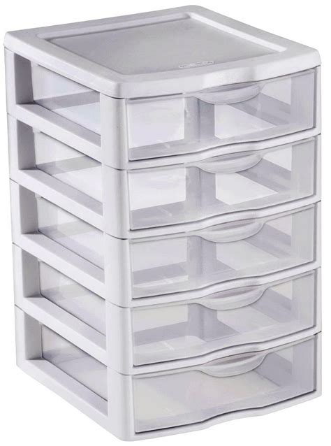 Plastic Drawer Organizer by Plastic 6 Drawer Organizer Home Design Ideas
