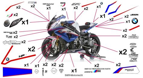 Sticker Kit Motorrad by Stickers Replica Bmw Motorrad Italia Sbk 2014 S 1000 Rr