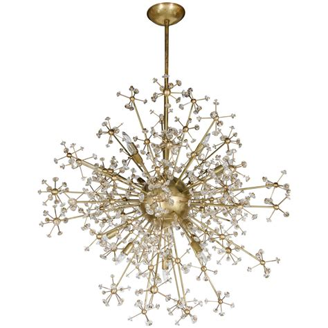 Mid Century Modern Chandelier Lighting Stunning Mid Century Modern Sputnik Chandelier With Murano Glass Adornments At 1stdibs