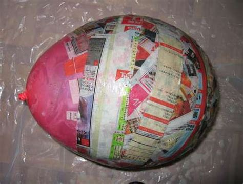 Paper Mache Crafts Ideas - everyday quot how to s quot how to paper mache