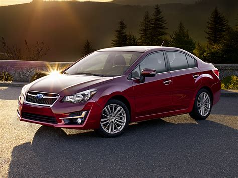 subaru awd sedan 2016 subaru impreza price photos reviews features