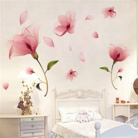 Wallsticker Flower removable flower wall sticker vinyl mural decals home living room decor chi ebay