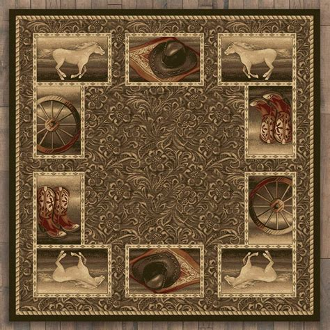 rugs 8 ft western home rug 8 ft square