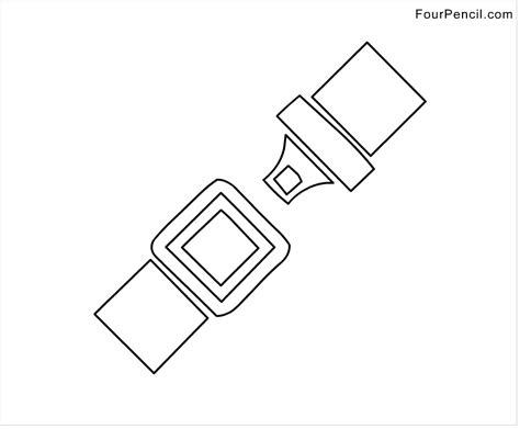 Belt Coloring Page Belt Coloring Pages