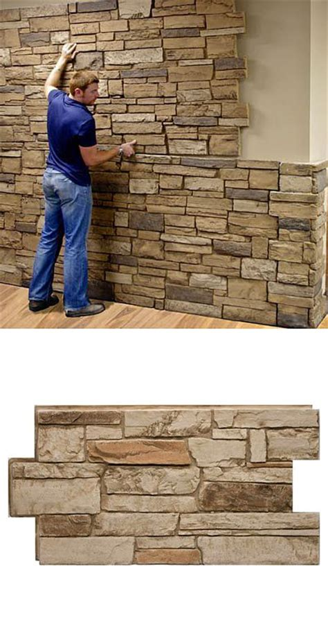 interior stone veneer home depot 25 best ideas about faux stone panels on pinterest faux