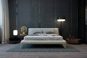 Bedroom Wall Texture by A Modern Flat With Striking Texture And Dark Styling