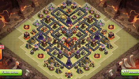 Layout Coc Base War Th9 | 5 th9 farming and war base layouts with 2 air sweeper