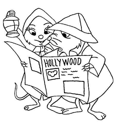 the rescuers coloring pages coloringpages1001 com