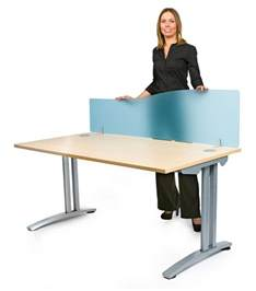 Office Desk Dividers Acrylic Desk Screen With Wave Shape Desk Divider Office Partition