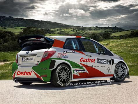 Toyota Which Upcoming Toyota Yaris Wrc Might Look Like This Autoevolution