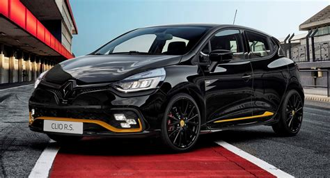 renault clio rs renault clio r s 18 adds f1 theme for special edition