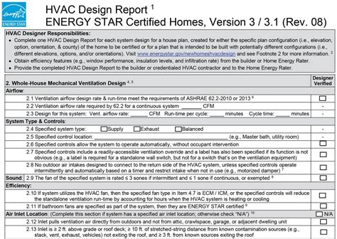 nursing home hvac design energy star hvac design report 2 whole house mechanical