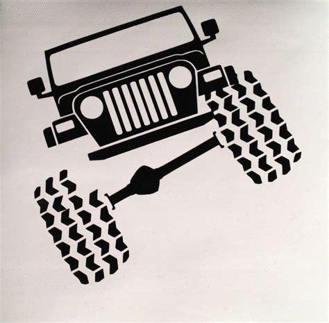 Jeep Vinyl Stickers Jeep Wrangler Tj Vinyl Decal Sticker Truck