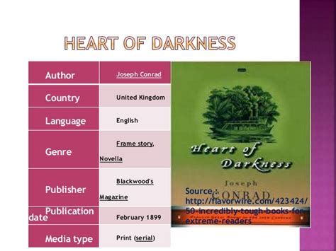 themes in heart of darkness part 3 heart of darkness and traces of marxism