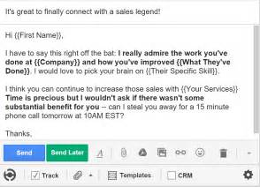 cold call email template 5 cold email templates that actually get responses bananatag