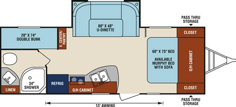 hitchhiker rv floor plans 100 hitchhiker rv floor plans hitchhiker 32 5