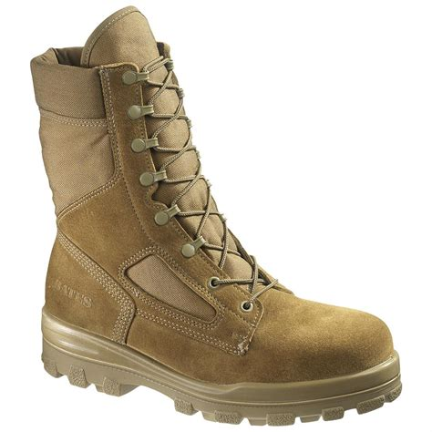 bates boots s bates 174 8 quot durashocks 174 side zip lace to toe boots
