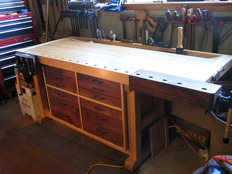 fine woodworking bench craftsmen built furniture natural building blog