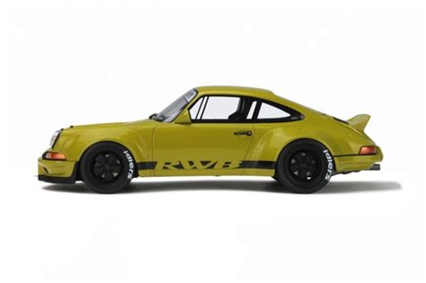 rwb porsche yellow rwb porsche 911 930 1 18 scale by gt spirit choice gear