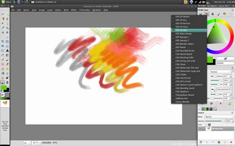 painting software linux mint 11 for digital painting david revoy