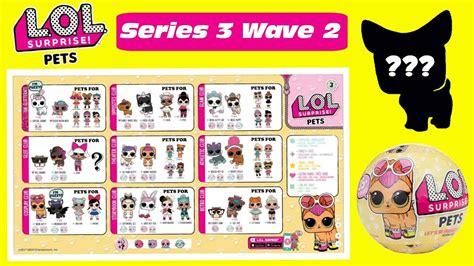 Lol L O L Pets Series 3 lol pets series 3 wave 2 predictions lol pets