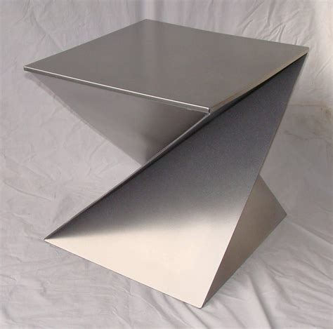Origami Side Table - pair of origami side tables for sale at 1stdibs