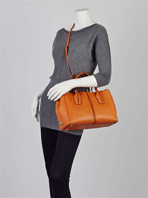 Tods Novita D Bag Piccola Purse by Tod S Leather D Styling Piccolo Zip Tote Bag