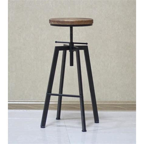 Tabouret De Bar Lot De 4 by Tabouret De Bar Industriel Lot De 4 Achat Vente