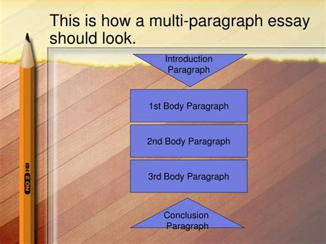 Multi Paragraph Essay by Ppt Writing A Multi Paragraph Essay Powerpoint Presentation Id 1081978