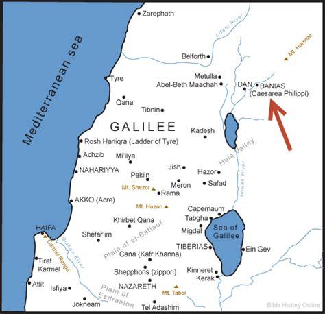 caesarea philippi map ancient caesarea philippi background bible study bible