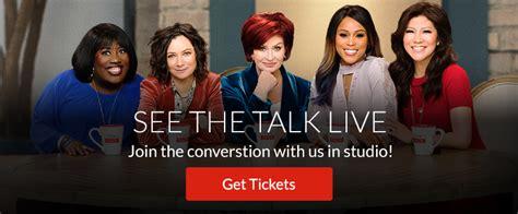 Cbs The Talk Show Giveaways - the talk hosts cbs com