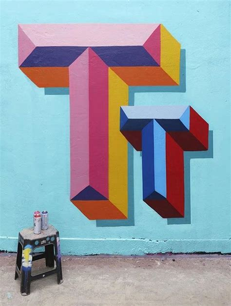 stunning graffiti street art  typography paintings