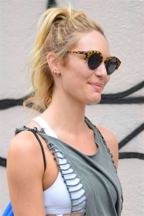 casual hairstyles at home thelist stay at home hair candice swanepoel hair and