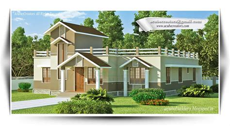 single storey house designs kerala style single story kerala home design